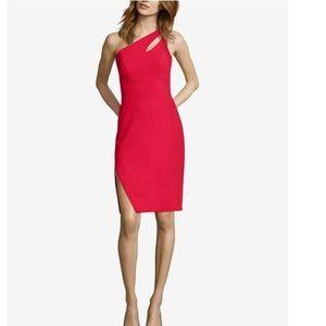 Xscape red cutout dress, size 12, new